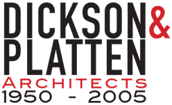 Dickson and Platten Architects 1950-2005